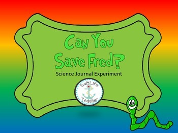 Save Fred! Scientific Method Booklet for Interactive Scien