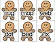 Save Gingy! DIFFERENTIATED Gingerbread Word Sort Pocket Chart Activity - CCSS