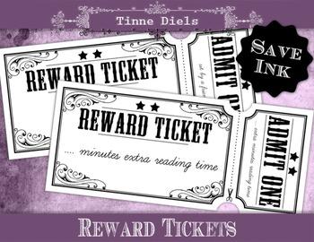 Save Ink Reward Tickets + Bonus detailed tutorial to add text with Picmonkey