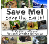 Save Me! Save the Earth! Earth Day Research-Based Narrativ