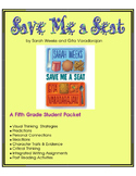 Save Me a Seat - A Fifth Grade Book Unit