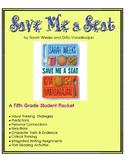 Save Me a Seat - A Fifth Grade Book Unit