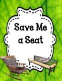 Save Me a Seat - Novel Study Bundle Print and Paperless