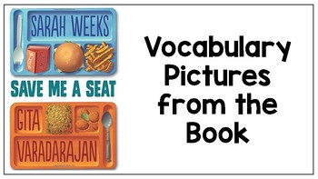 Save Me a Seat Vocabulary Pictures
