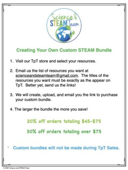 Save Money! Create Your Own Custom STEM Bundle