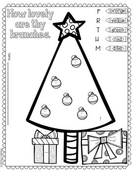 Save My INK: December NO PREP Math and Literacy Activities