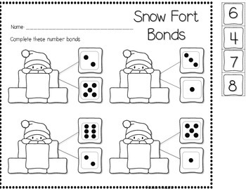 Save My INK: January NO PREP Math and Literacy Worksheets