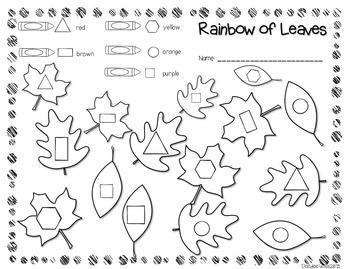 Save My INK: November NO PREP Math and Literacy Activities