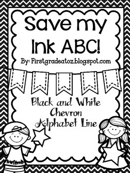 Save My Ink Alphabet Line