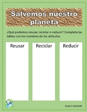 Save Our Planet-Spanish