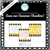 Customizable Intro to Breakouts / Escape Room Game (Save Our Summer Vacation)