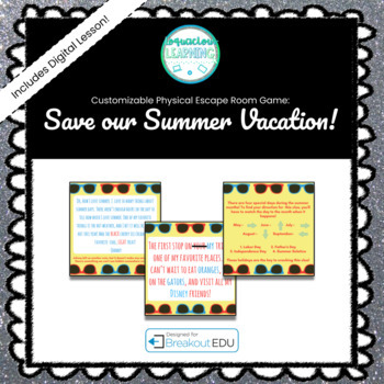 Save Our Summer Vacation - Intro to Breakout Game ]