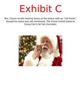 Save Santa Inference Mystery