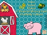 Save, Spend, Share Financial Literacy Bank Craftivity & More