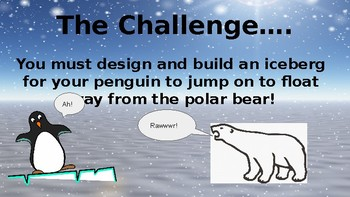 Save The Penguin Winter STEM Activity