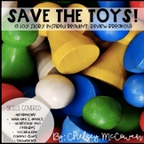 Save The Toys! A Toy Story Themed Reading Breakout