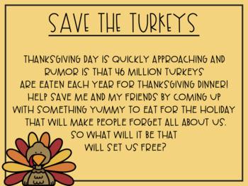 Save The Turkeys!
