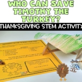 Thanksgiving STEM NGSS Hands on Turkey Activity
