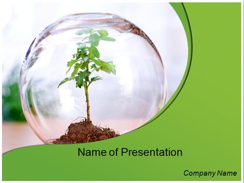 Save Tree PPT Template