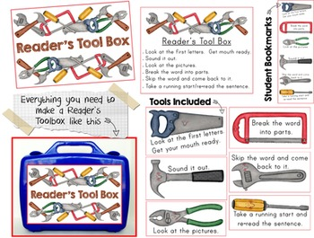Save With A Bundle:  Author's Purpose - All About PIE and Reader's Tool Box