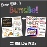 Save With A Bundle:  Author's Purpose - All About PIE and