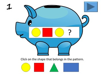 Save Your Pennies Interactive PowerPoint Activity - Patterns