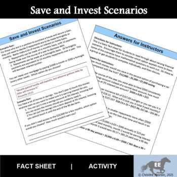 Save and Invest Scenarios