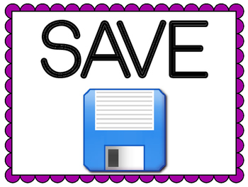 Save and Save As