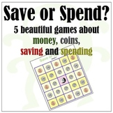 Coins, Trading, Money, Saving & Spending: 5 Beautiful Games