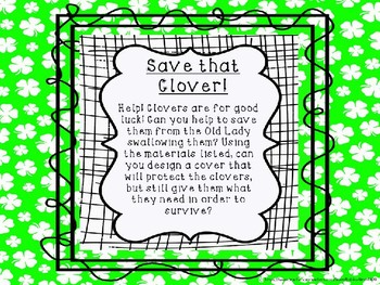 Save that Clover! St. Patrick's Day Engineering Fun