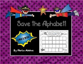 Save the Alphabet! FREEBIE