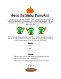 Revised Save the Baby Pumpkin STEM Challenge
