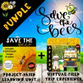 Save the Bees Project-Based Learning - Distance Learning -