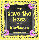 Save the Bees with Wildflowers - Freebie