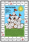Save the Castle! Addition and Subtraction Game