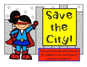 Save the City! Counting Math Cubes 11-20