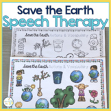 EARTH DAY SPRING Speech Therapy Themed Packet for Mixed Groups