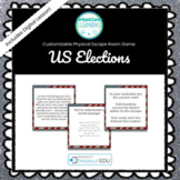 Election Themed Customizable Escape Room / Breakout Game