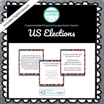 Save the Electoral College! Election Breakout EDU Game
