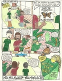 Save the Monarchs Comic