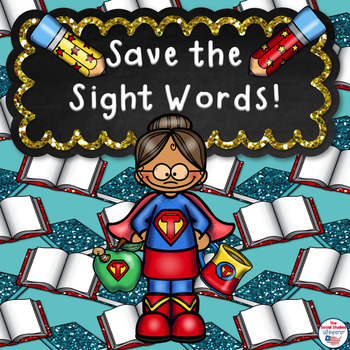 Save the Sight Words Spelling Practice Sheet for ESOL