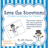 Winter Letter Sound Game