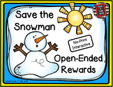 Save the Snowman!  Open-Ended Interactive Rewards