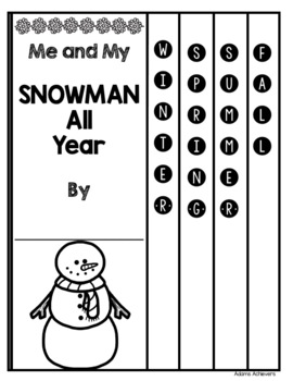 Snowmen All Year - STEM and Flat Snowman Projects