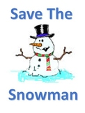 Save the Snowman Writing