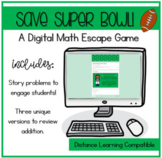 Save the Super Bowl! Digital Math Game
