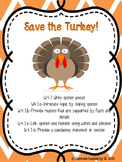 Persuasive Writing-Save the Turkey!