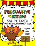Persuasive Essay - Save the Turkey!