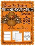 Save the Turkey Thanksgiving Freebie