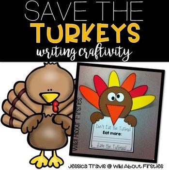 Save the Turkeys! {A Fun Craftivity}